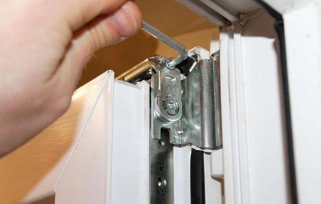 Ремонт окон, регулировка, замена фурнитуры ,жалюзи, установка окна