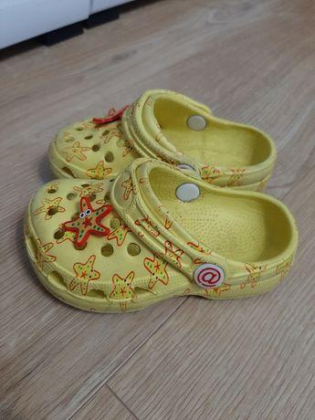 Buty piankowe ala Crocs klapki na plażę do wody na działkę rozmiar 23
