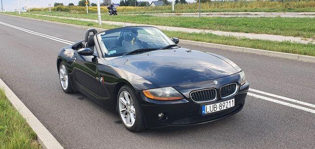 BMW Z4 2.0i SE E85 Roadster Anglik 2005r Ładny! Zarejestrowany w PL!