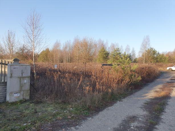 działka gałkówek borowa ul.Skrajna ogrodzona woda prąd
