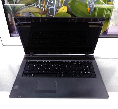 """Wielki 17"""" laptop ACER 7250 /4GB-Ram/ 500GB-Dysk /Szkoła/Kamera/ TANIO"""