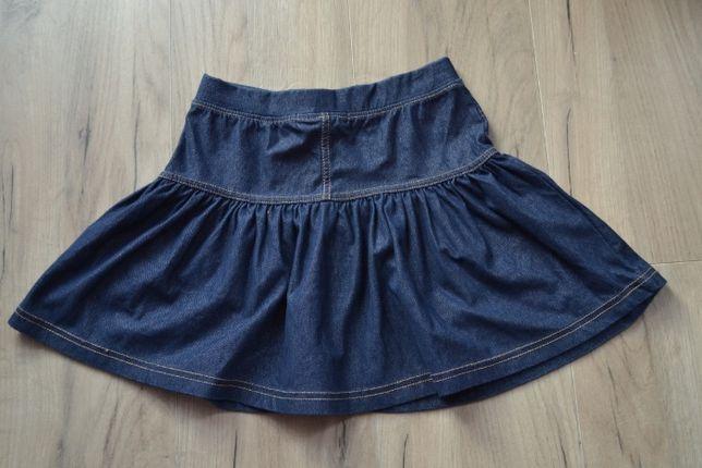 Spódniczka spódnica do przedszkola dżins Carry R. 122/128
