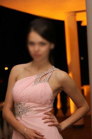 Выпускное нежное платье