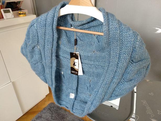Nowy sweterek bolerko- rozmiar z metki L