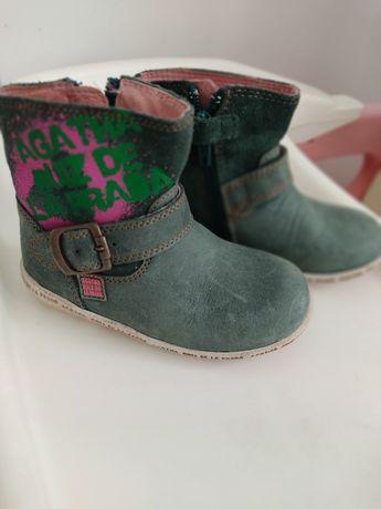 Кожаные ботинки 21 р. 14 см. agatha ruiz de la prada