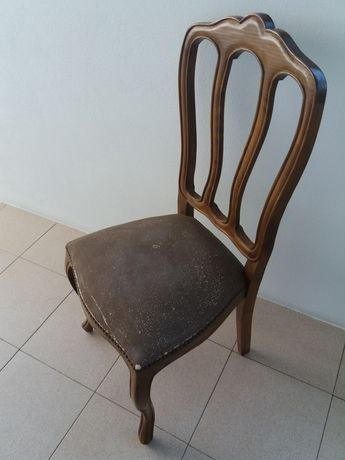 Cadeiras para sala, sem uso