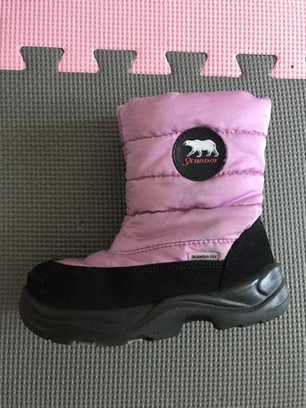 Зимние ботинки , сапоги Скандия Skandia . Как Kuoma 25 размер