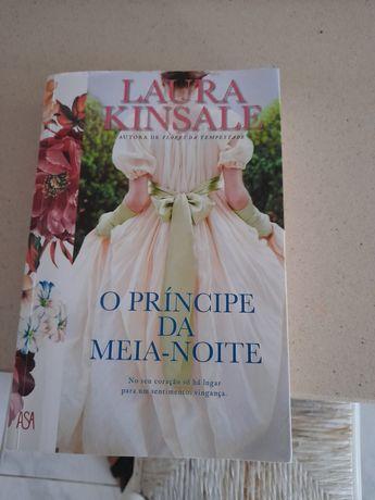 O príncipe  da meia noite  Laura Kinsale