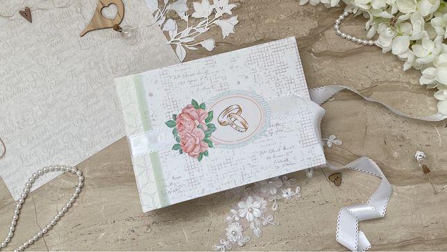 Album ślubny dla Młodej Pary ręcznie robiony idealny na prezent