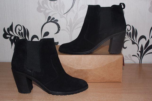 Ботинки сапожки замшевые h&m 39 p