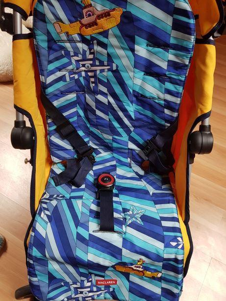 Maclaren коляска-трость Quest Beatles Yellow Submarine