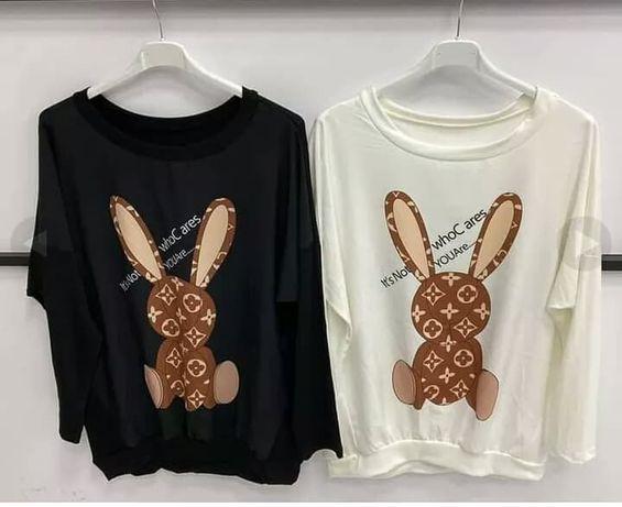 bluza królik cyrkonie NOWA