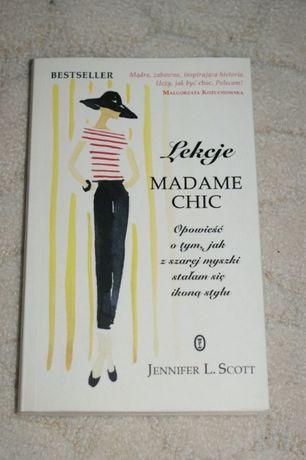 Lekcje Madame Chic Jennifer l. Scott Poradnik moda i styl