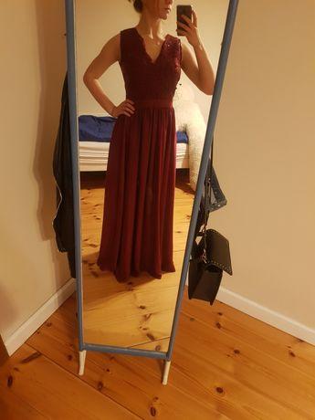 Długa, piękna sukienka