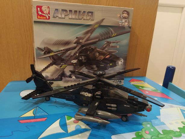 Конструктор вертолет армия