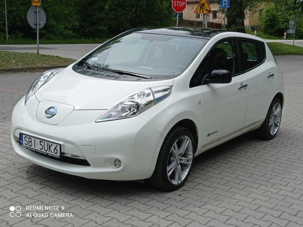 *Nissan Leaf 24*Klima,Skóra,Bose*Przebieg 51 tyś*100% ELEKTRYCZNY*EU*