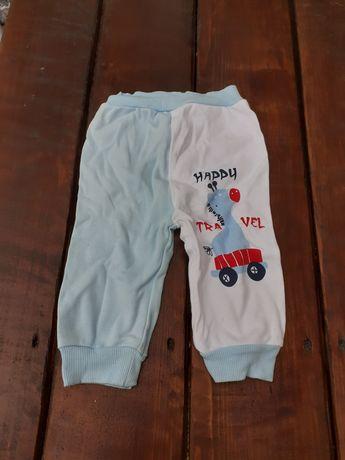 Spodnie dresowe rozmiar 68