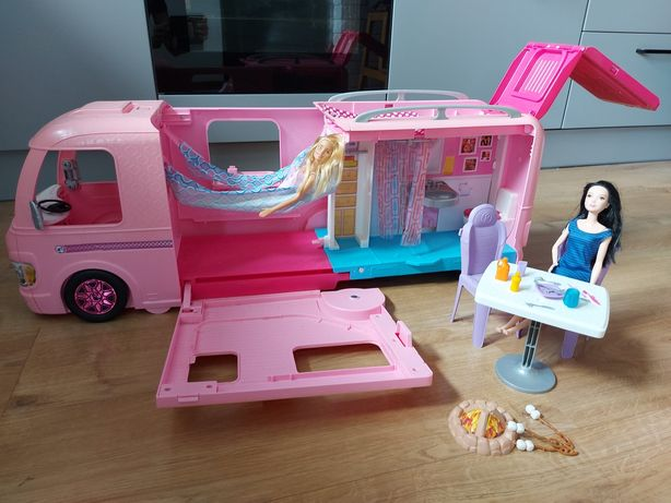 Barbie duży kamper auto