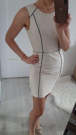 Złota sukienka H&M 34 xs
