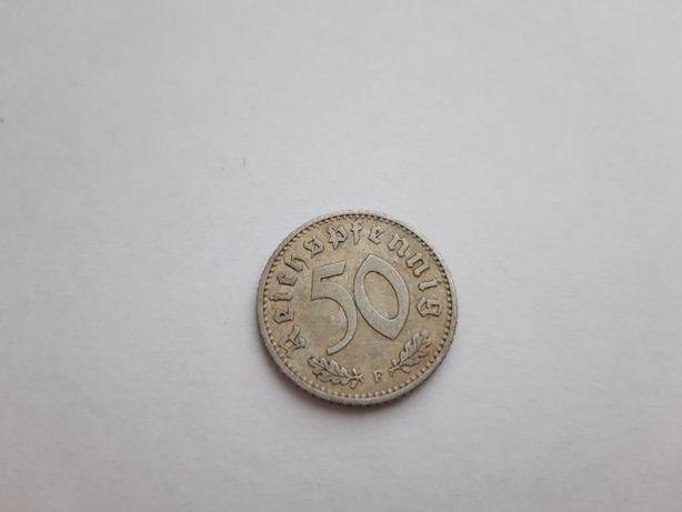 50 рейхспфеннигов 1941г.(F)