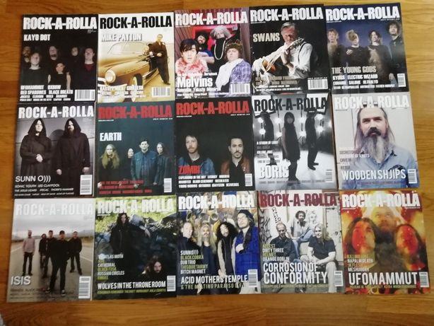 Rock-a-rolla Magazine (Preço para o Lote) Revista Música Alternativa