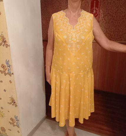 Летнее платье размер 52