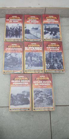 Kasety VHS o tematyce wojennej