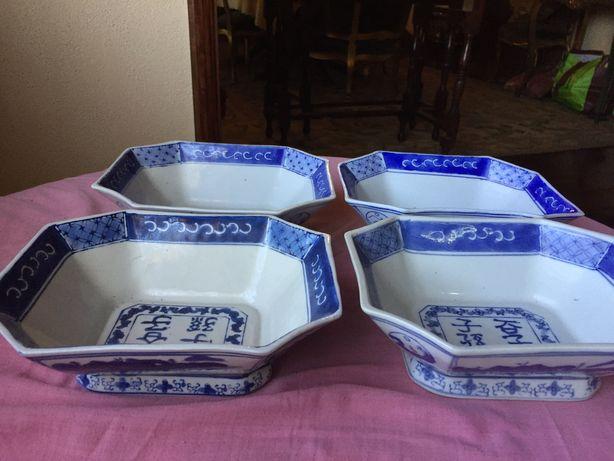 Conjunto de 4 tigelas chinesas