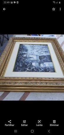 Quadro com a vista do Palácio Sintra
