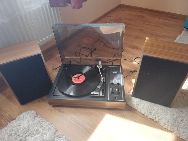Gramofon universum stereo 40 w + glosniki VINTED