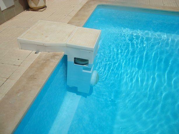 Equipamento para piscina