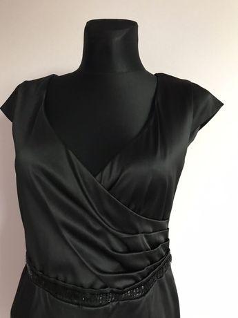 Wizytowa świąteczna sylwestrowa elegancka sukienka Sisel 40