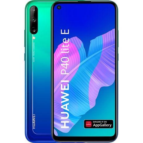 Смартфон HUAWEI P40 Lite E, 64GB, 4GB Dual SIM, Aurora Blue/black