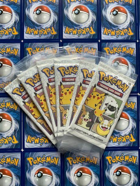 Booster na 25 lecie Karty Pokemon TCG z Pikachu Holo