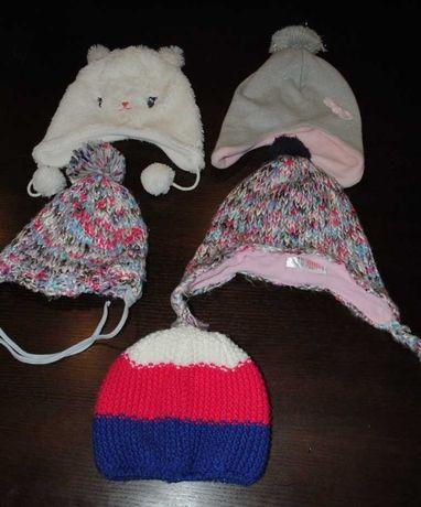 31-> 5szt czapka na polarze LUPILU F&F r.86 12-86mcy