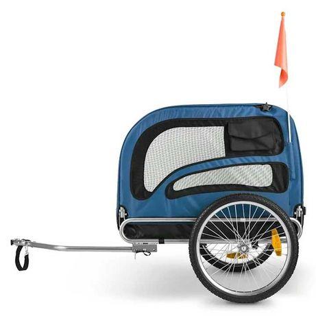 Przyczepka rowerowa dla psów