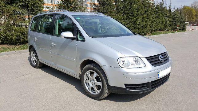 Volkswagen Touran 2005 газ/бензин