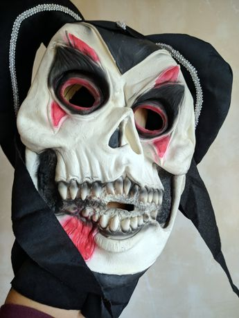 Маска карнавальная Хэллоуин Halloween Джокер