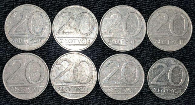 20 злотых 1973-1989
