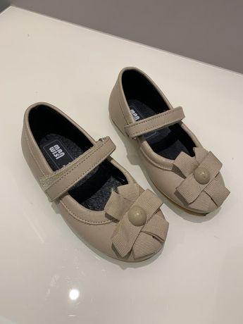 Кожаные туфли, босоножки для девочки, Man wist, стелька 15,5