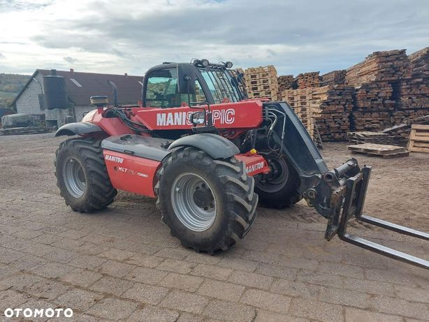 Manitou MLT 627 Turbo Idealna