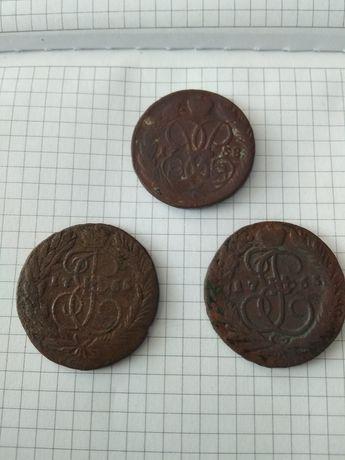 Єлизавета 2к-1758г. Єкатерина  2. 2 к-1765,66(м.м)