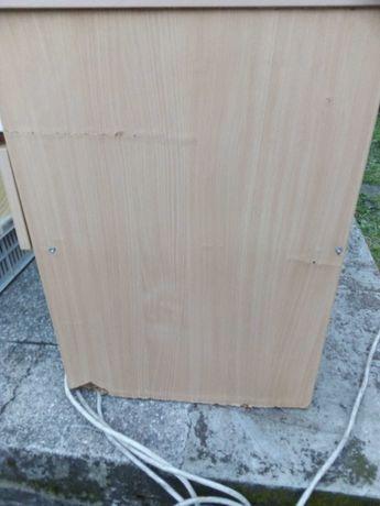 Biurko duże drewniane