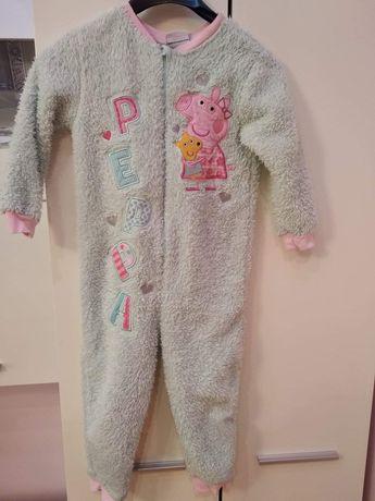 ONESIE kombinezon piżama 98-104 świnka PEPPA