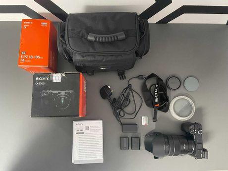 Sony a6300 + Obiektyw Sony 18-105mm (zestaw)