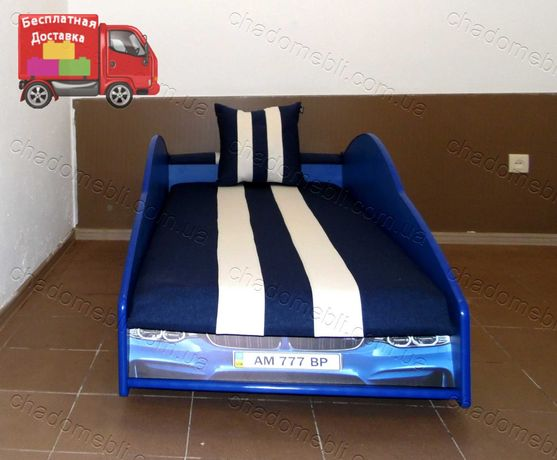 Детская Кроватка Машинка БМВ/Кровать Машина для Мальчика для Девочки