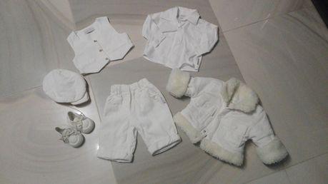Ubranie do chrztu rozmiar 62 chłopiec