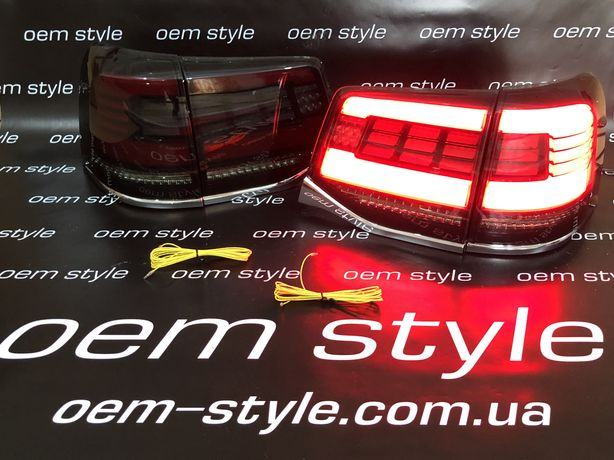 Фонари LED Toyota Land Cruiser 200 2016-2019