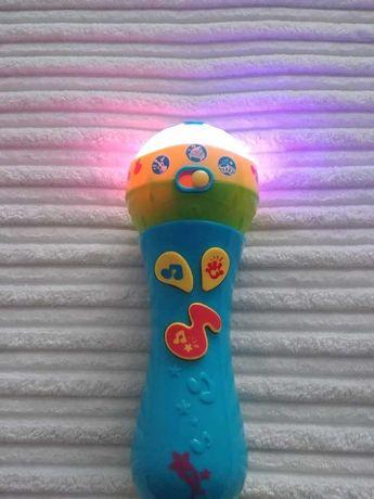 Mikrofon małego artysty, zabawka interaktywna- Dumel Discovery,