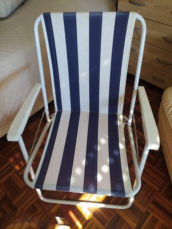 Cadeira média de praia